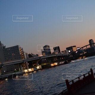 東京の川の写真・画像素材[4925807]