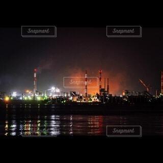 金城埠頭の夜の写真・画像素材[4925833]