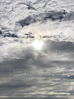 空,太陽,雲,くもり