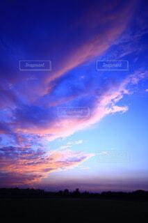 自然,風景,空,屋外,雲,夕焼け,癒やし