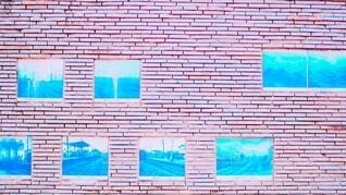 インスタで使われそうな壁の写真・画像素材[4941003]