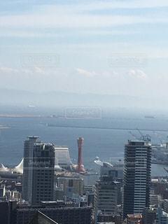 アウトドア,空,自撮り,山,展望台,神戸,港町,私の街