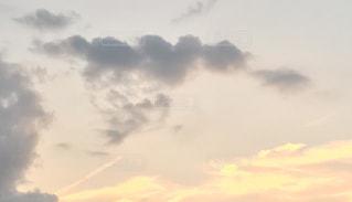空,公園,自撮り,雲,夕焼け,散歩,オリジナル,お気に入りの場所,エンゼルハート