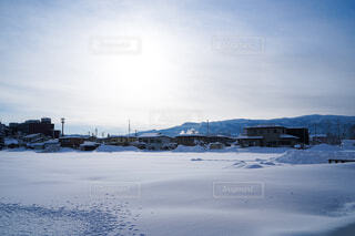 自然,風景,空,冬,雪,屋外,雲,山