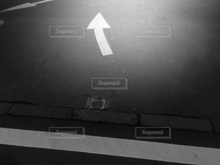 路面表示の写真・画像素材[823604]