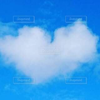自然,空,屋外,雲,青い空,ハート,恋愛運
