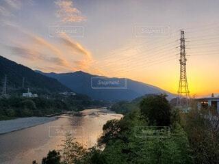 自然の生み出す風景の写真・画像素材[4937139]