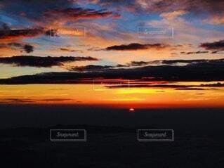 自然,空,屋外,太陽,雲,夕暮れ,残光,朝の赤い空