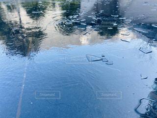 自然,屋外,湖,水面,反射,氷