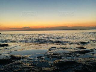 湘南江ノ島の夕暮れの写真・画像素材[4934718]
