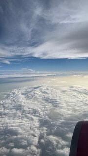 自然,空,雪,屋外,飛行機,山,スキー