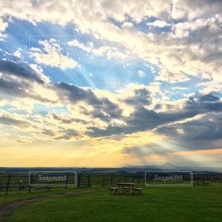 空には雲のグループの写真・画像素材[892283]