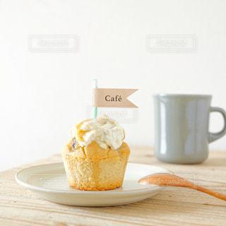 おうちカフェ. .手づくりマフィンの写真・画像素材[3256285]