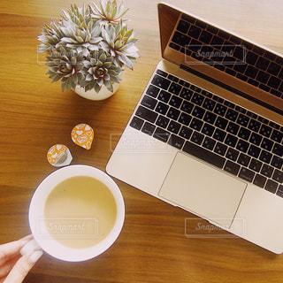 おうちカフェの写真・画像素材[1245724]