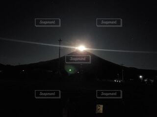 パール富士山の写真・画像素材[4953829]