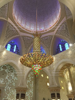 アブダビのシェイクザイードグランドモスクの写真・画像素材[772569]