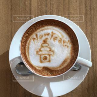 コーヒーのカップとプレート - No.939694