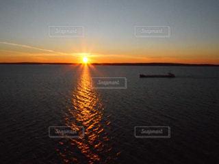 自然,風景,海,空,夕日,海外,太陽,夕暮れ,船,光,夕陽,地平線,ノルウェー