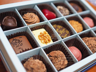 チョコレートボックスの写真・画像素材[2938657]
