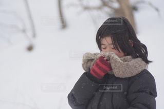 冬 冬服 コーディネート ファッション 子供 Kidの写真・画像素材[341273]