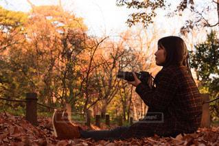秋の装いの写真・画像素材[1046010]