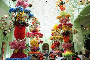 色とりどりの花のグループ - No.785724