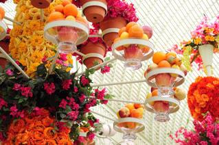 色とりどりの花のグループ - No.785735