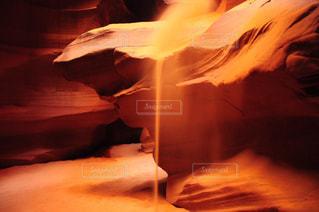 アンテロープキャニオンの砂の写真・画像素材[786291]