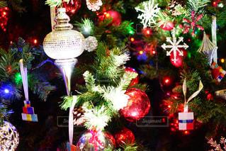 夜ライトアップされたクリスマス ツリー - No.914684