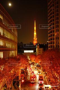 夜の街の景色 - No.1026126