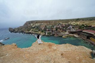 風景,海,海外,ヨーロッパ,観光,旅行,5月,海外旅行,村,マルタ島,マルタ,Malta,ポパイ村