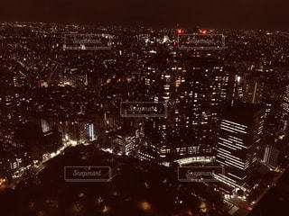 東京都庁から見る新宿の夜景👀の写真・画像素材[1691363]