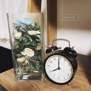 時計,家,アナログ,ポプリ