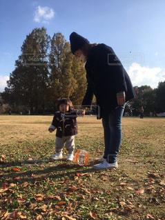 公園,親子,子供,娘,一歳,ママと子ども