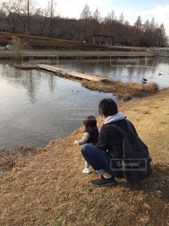 公園,親子,仲良し,父,娘