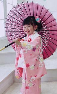 ピンク,子供,女の子,着物,桃色