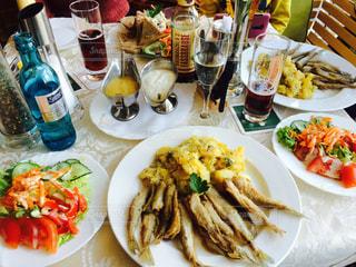 魚,ドイツ,盛り合わせ,小魚,ハンブルグ,Das Kleine,リューネブルク,ダスクライネ,ししゃものフライ