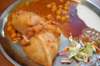 インドカレー,ハンブルグ,野菜カレー,インディア,Badshah,サモサ