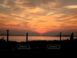 ドイツの夕陽の写真・画像素材[1273071]