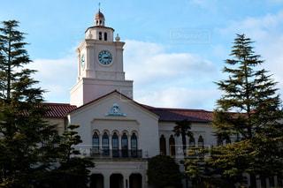 時計,学校,時計台,懐かしい,大学,時計塔,学舎,待ち合わせ場所