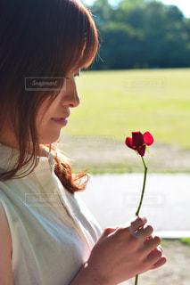 女性の写真・画像素材[489655]