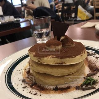 ケーキ,パンケーキ,喫茶店,ティラミス