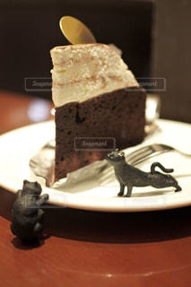 ケーキ,ねこ,喫茶店,ガトーショコラ,チョコ,チョコケーキ,ショコラ