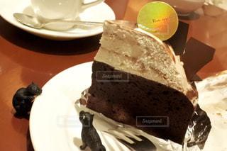 ケーキ,ねこ,喫茶店,チョコ,チョコケーキ,ショコラ
