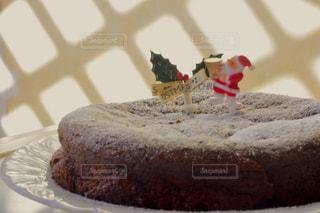 ケーキ,クリスマス,ハンドメイド,サンタ,ガトーショコラ,チョコ,手作り