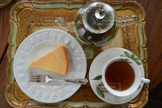 ケーキ,ティーカップ,紅茶,喫茶店,チーズケーキ,お茶会,ティーポット