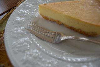 ケーキ,フォーク,カトラリー,喫茶店,お皿,チーズケーキ,お茶会