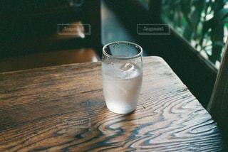 インテリア,木,水,テーブル,喫茶店,フィルム,木目,お冷