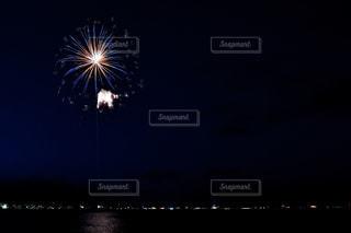 夜景,湖,花火