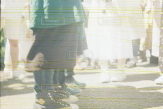 ガラスのケースのぼやけた画像 - No.709413